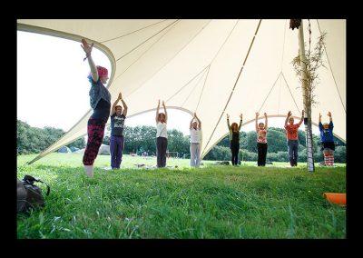 Yoga - meditation tent