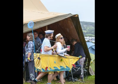 Rowing boat fancy dress