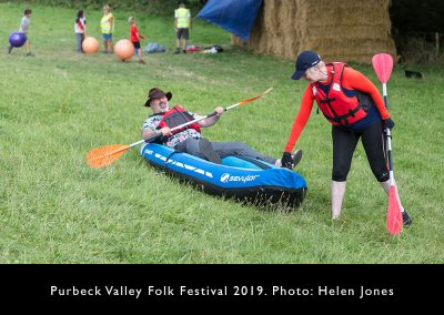 Fancy dress - kayakers
