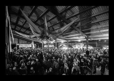 Big barn audience