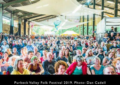 Big Barn audience